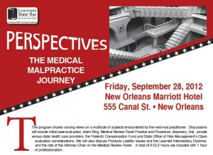 Perspectives - The Medical Malpractice Journey